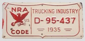 U.S. 1935 NRA trucking industry